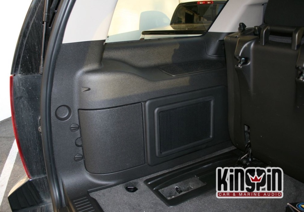 2011 Chevrolet Tahoe Sub Enclosure Kingpin Car And
