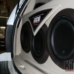 Escalade subwoofer enclosure