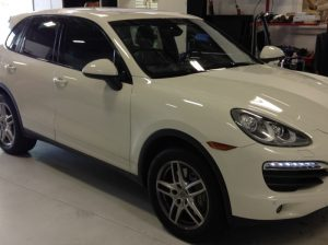West Linn Porsche Cayenne Radar And Laser Upgrade