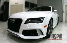 2016 Audi S7 Custom Radar And Laser System