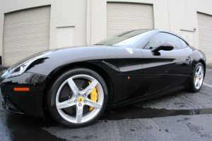 Tint and Safety Film Keep this Ferrari California Looking Sexy!