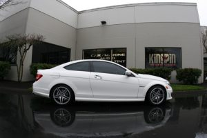 Portland Mercedes-Benz C63s Laser And Radar Custom System