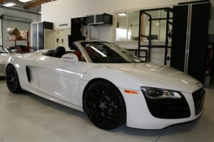 Audi R8 Spyder Radar and Laser Defense Protects Tualatin Client