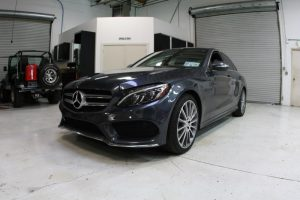 Mercedes C400 Audio Build