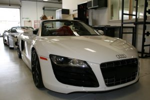 Wilsonville Client Adds 2013 Audi R8 Laser and Radar System
