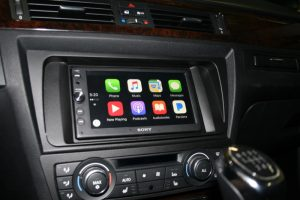 Lake Oswego BMW 328i Client Adds Smartphone Compatible Source Unit