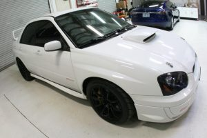 Portland WRX STi Client Comes To Kingpin for Subaru Stereo Upgrades