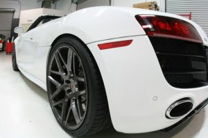 Audi R8 Audio Package and Radar/Laser System for Tualatin Client