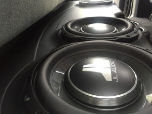 Dodge Ram Subwoofer Enclosure For Trio Of JL Audio Subwoofers