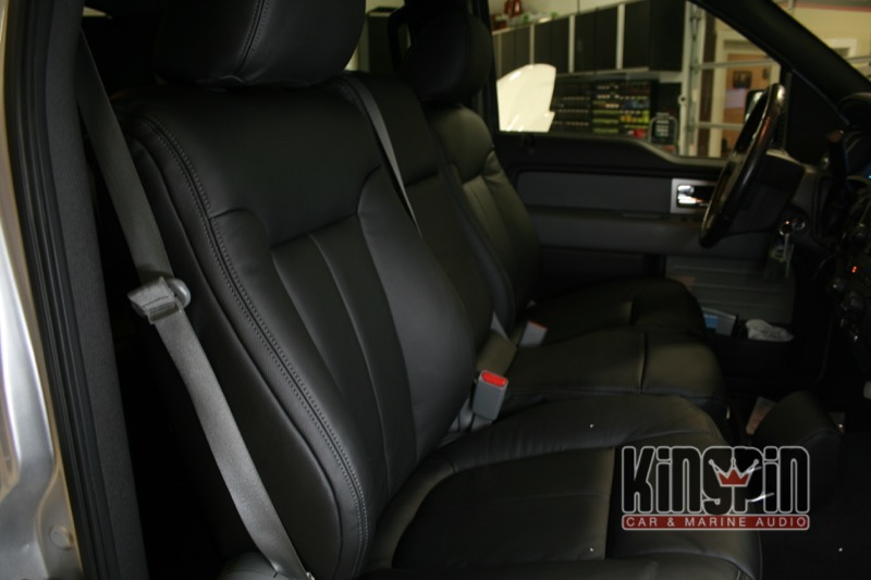 Beaverton Client Comes To Kingpin For Ford F 150 Leather
