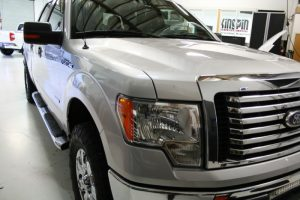 Beaverton Client Comes to Kingpin for Ford F-150 Leather Seat Kit