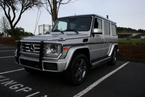 Tualatin Client Gets Mercedes-Benz G63 Motorized Steps