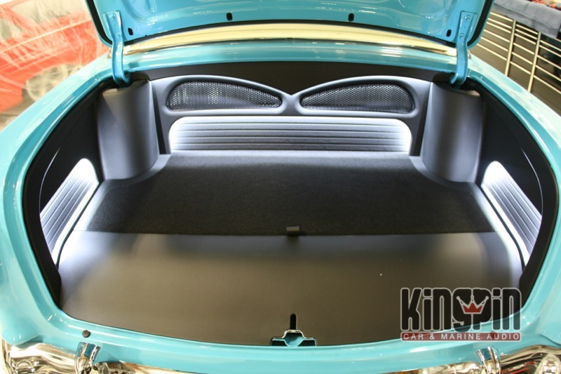 1955 Chevrolet Stereo System Upgrade Kingpin Car And