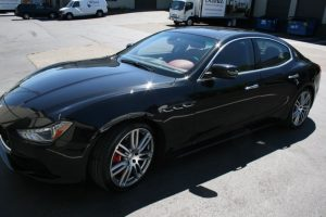Repeat Lake Oswego Client Gets Maserati Ghibli Ceramic Coat